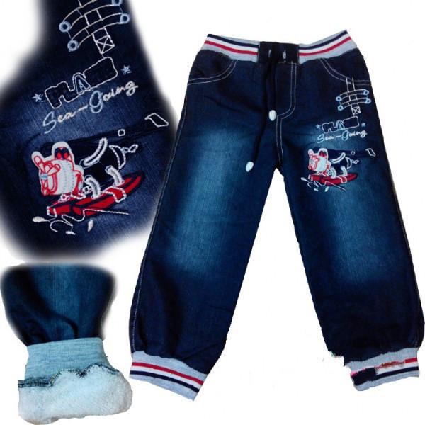 Джинсы (махра), комбинезоны (махра), утепленные брюки оптом.