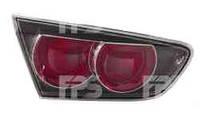 Фонарь задний для Mitsubishi Lancer X '07- левый (DEPO) внутренний, черный