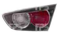 Фонарь задний для Mitsubishi Lancer X '07- правый (DEPO) внутренный, черный