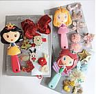 Набор детских аксессуаров заколки и расческа для девочек младшего возраста Принцесса, фото 5