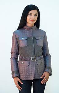 Женская куртка на синтепоне CHIAGO с поясом