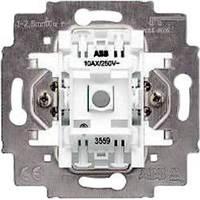 Механизм выключателя с N клеммой и возможн. подсветки 1кл. ABB Electro Praga 3559-A21445