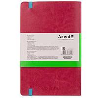 Блокнот  для записей 12,5*19,5 96л. Axent Partner Flex в точку 8209**_Серый