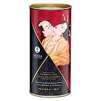 "Shunga Разогревающее масло ""клубничное вино"" Shunga APHRODISIAC WARMING OIL - Sparkling Strawberry Wine (100 мл)"