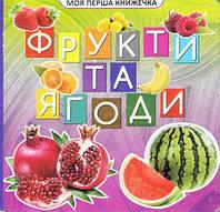 """Книжка """"Моя первая книжка: Фрукты и ягоды"""" (укр) VR06041706"""