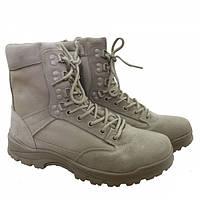 Ботинки MIL-TEC TACTICAL BOOT ZIPPER YKK Khaki, фото 1
