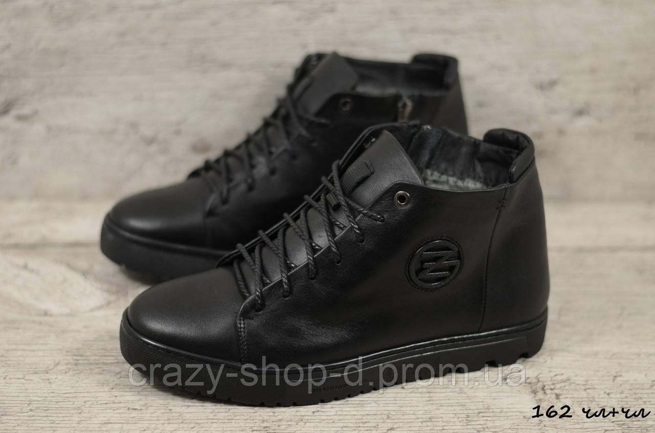 Мужские кожаные ботинки Zangak (Реплика) (Код: 162 чл+чл  ) ►Размеры [40,41,42,43,44,45]