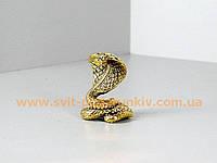Сувенир бронзовая статуэтка Змея - Кобра
