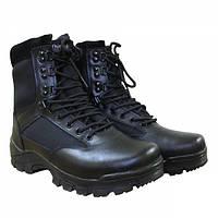 Ботинки MIL-TEC TACTICAL BOOT ZIPPER YKK Black, фото 1