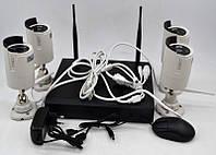 Комплект камер видеонаблюдения 8004WIFI (4 камеры)