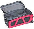 Качественный малый чемодан 26 л. VERUS Monte Carlo 20, VMC-05-03 красный, фото 2