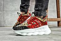 Женские кроссовки Versace Chain Reaction Sneakers многоцветные р.36 Акция -53%!