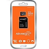 Мікро SD Накопичувальна Карта Пам'яті Advance 32GB microSDXC Class 10 UHS-I