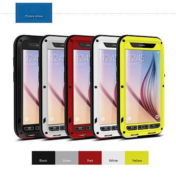 """Samsung S6 G920 влагозащищенный противоударный чехол бампер для телефона  (100% оригинал) """" LOVE MEI"""""""