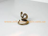 Памятный сувенир, бронзовая фигурка Змея в движении