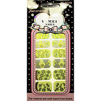 Наклейки для Ногтей Слайдер Дизайн Ноготки Yamei Nails Самоклеящиеся №2013В № 09 Маникюр