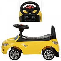 Каталка толокар для детей Bambi Audi M 3147A-6 Желтый
