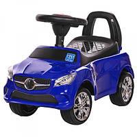 Каталка толокар для детей Bambi Mercedes M 3147С-4  Синий