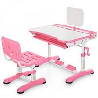 Детская парта для дома трансформер Bambi M 3823-8 Pink