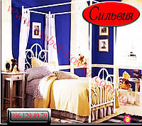 """Двуспальная кровать кованая """"Сильвия"""""""