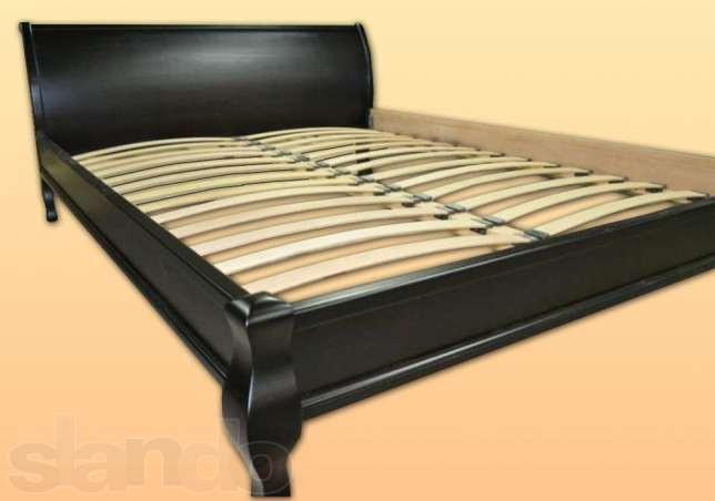 """Кровать двуспальная """"Парус""""(160*200) Венге деревянная"""