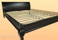 """Кровать двуспальная """"Парус"""" Венге деревянная"""