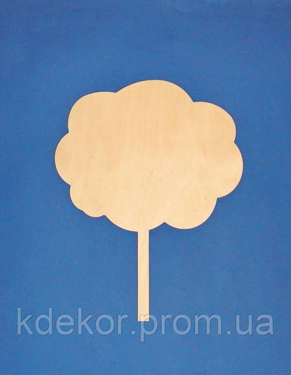 Облачко (облако) на ножке заготовка для декупажа и декора