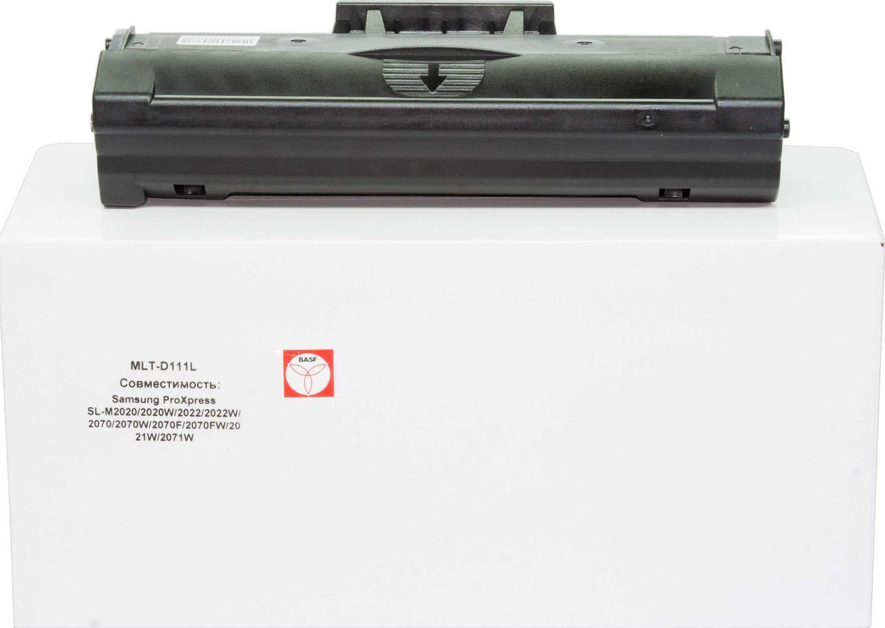 Картридж Samsung MLT-D111L, Black, SL-M2020/M2070, ресурс 1800 листов, BASF (BASF-KT- MLTD111L)