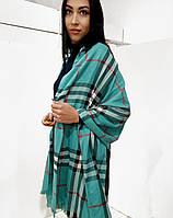 Женский кашемировый шарф в стиле Бербери