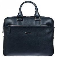 Практичный кожаный портфель на два отделения Desisan арт. 6019-315