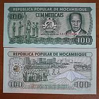 Мозамбик 100 метикал 1989 UNC
