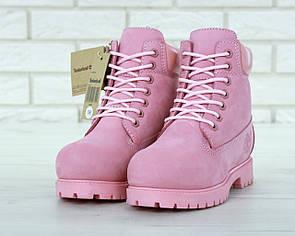 Женские ботинки Timberland Pink 39