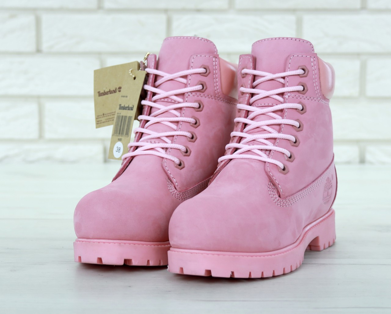 Жіночі Чоботи Timberland Pink