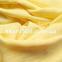Шифон однотонный (Лимон)