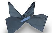 Крылач вентилятора измельчителя Нива
