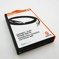 Аудио кабель (Aux) Griffin 3.5 jack m/m 0,9 метр