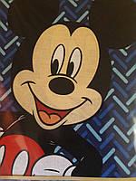 Полуторный комплект детский  Микки  Маус Бязь Тиротекс  Тирасполь