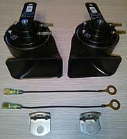 Сигнал звуковой, к-т 2шт, низкий+высокий тон, чёрные ( оригинал у японских авто ) JK2720006900
