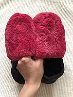 Размер 37. Женские теплые зимние тапочки для дома