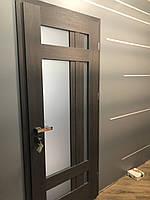 """Двери Verto Лада-Лофт 4.1 декор Кора венге """"Verto-LINE 3D"""""""