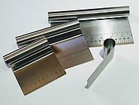 Набор кондитерских шпателей 4 шт. 5 см, 10 см, 15 см, 20 см