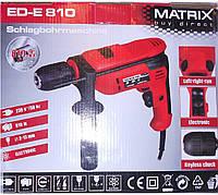 Ударная дрель Matrix ED-E 810