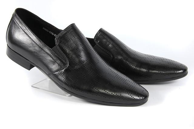 Летние мужские туфли LOUIS ALBERTI 3003  41  черный