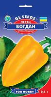 Перец Богдан сладкий сорт непревзойденный урожайный крупноплодный сочный раннеспелый, упаковка 0,5 г