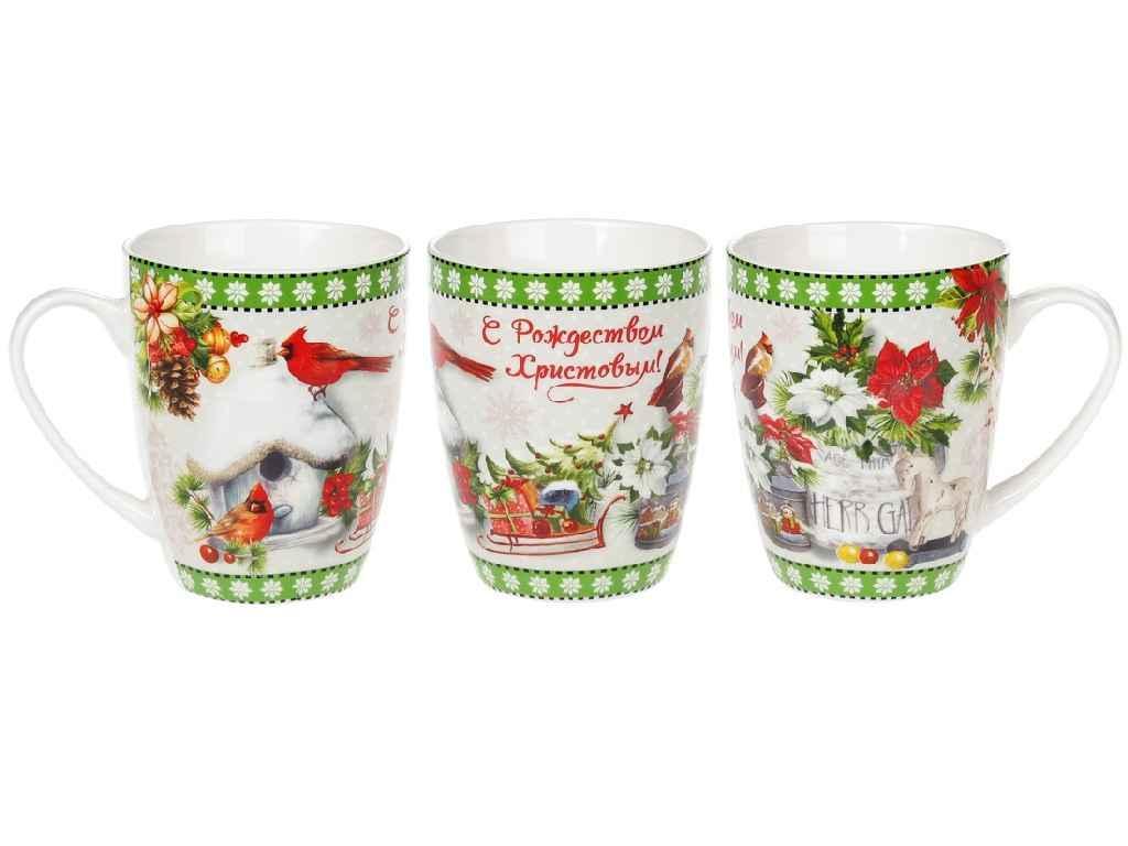 """Фарфорова Чашка З Різдвом! 350 мл 577-552 """"BONADI"""""""