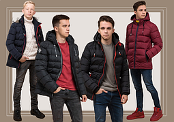 Зимние мужские куртки для мальчиков и подростков