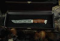 """Нож ручной работы """"Викинг 2"""" 150х32х4мм с ручкой из айронвуда"""
