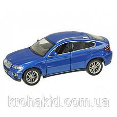 """Машина металл 68250А """"АВТОПРОМ"""" BMW X6,синий, фото 2"""