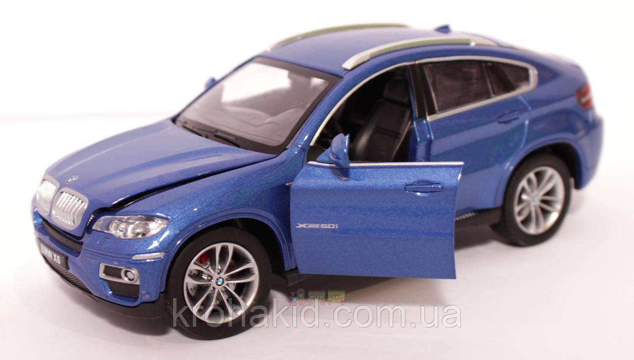"""Машина металл 68250А """"АВТОПРОМ"""" BMW X6,синий"""