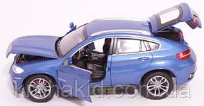 """Машина металл 68250А """"АВТОПРОМ"""" BMW X6,синий, фото 3"""